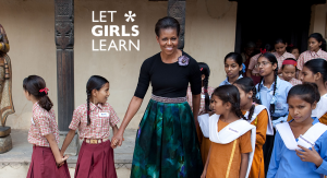 Michelle Obama Let GIrls Learn2