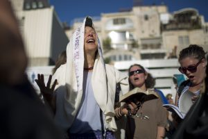 ISRAEL-RELIGION-JUDAISM-WOMEN